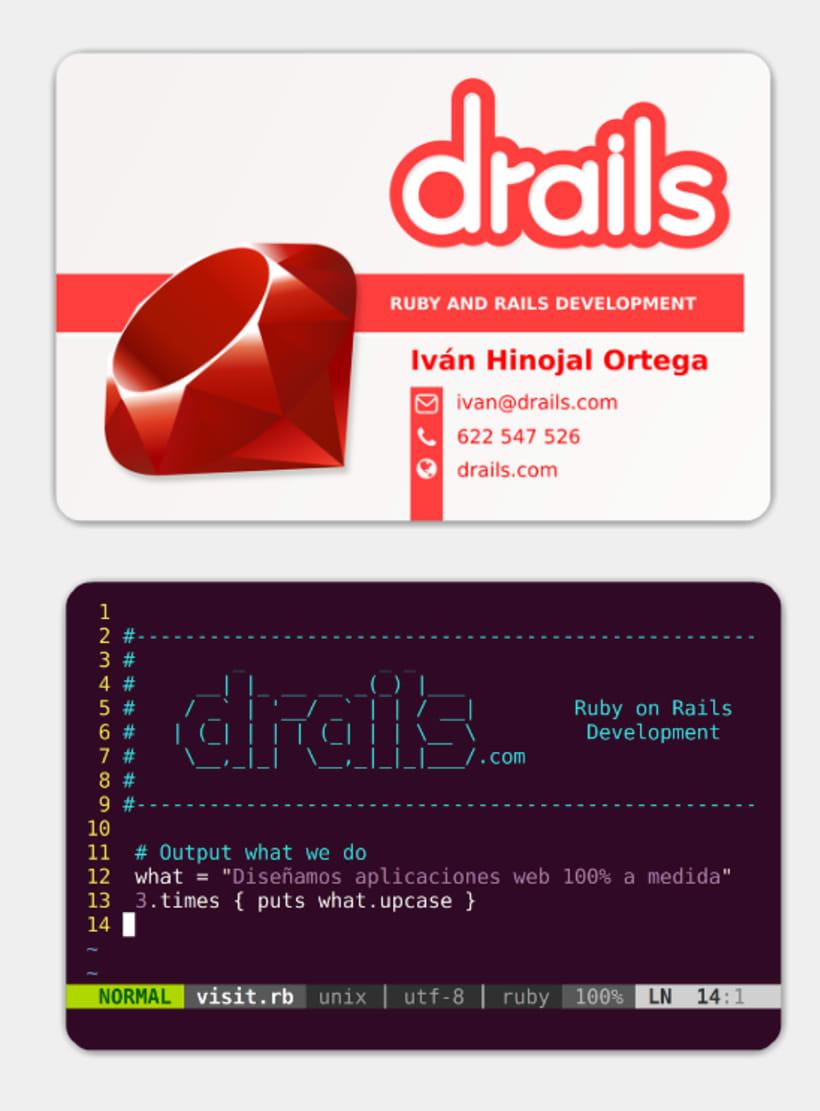 Tarjetas de Visita - Drails 0