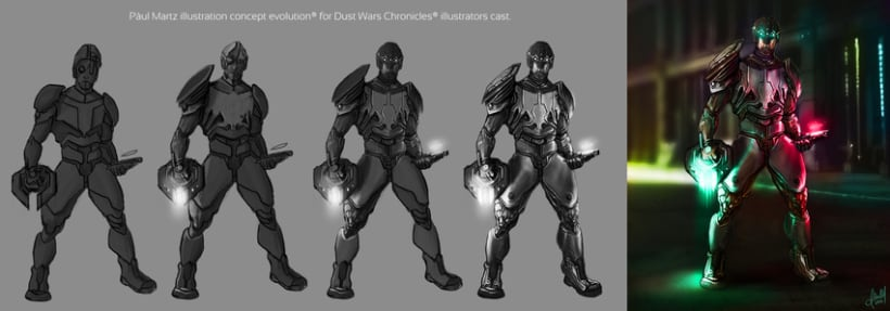 Concept Illustration for DWC Illustrators cast.  -1