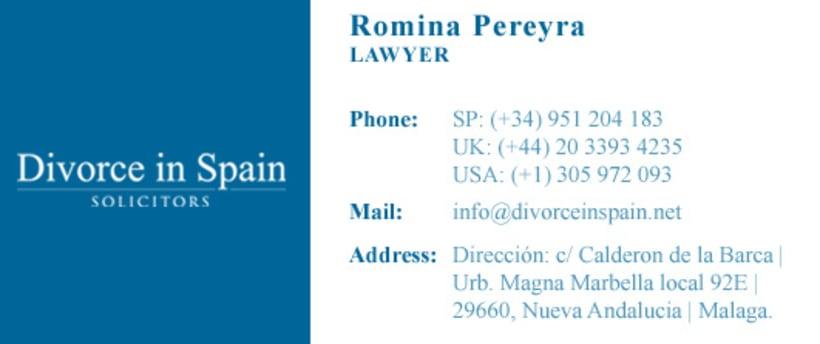 Divorce in Spain - Logo 2