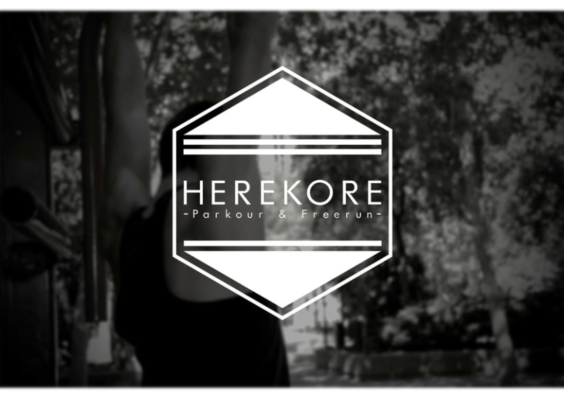 Herekore logo design 2