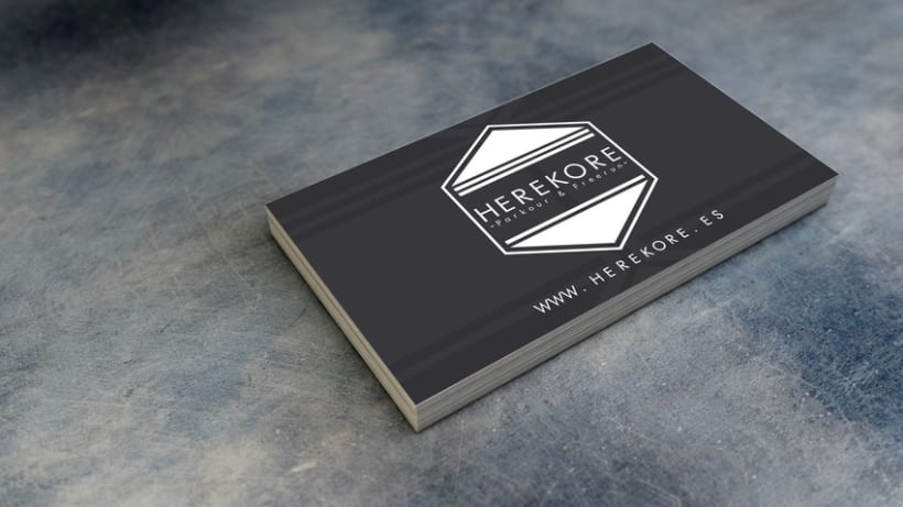 Herekore logo design 4