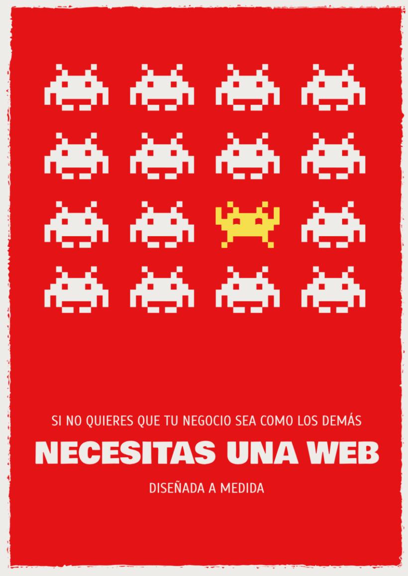 Publicidad panfleto/flyer web a medida 0