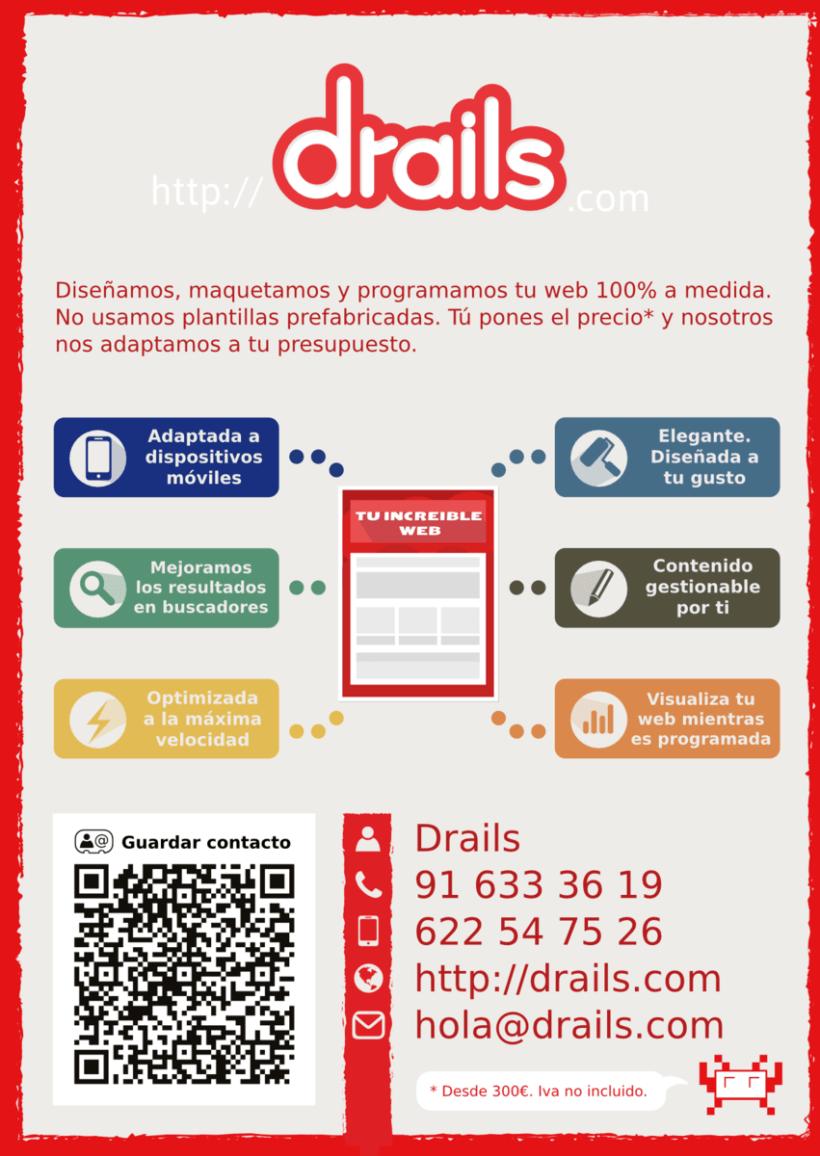 Publicidad panfleto/flyer web a medida 1