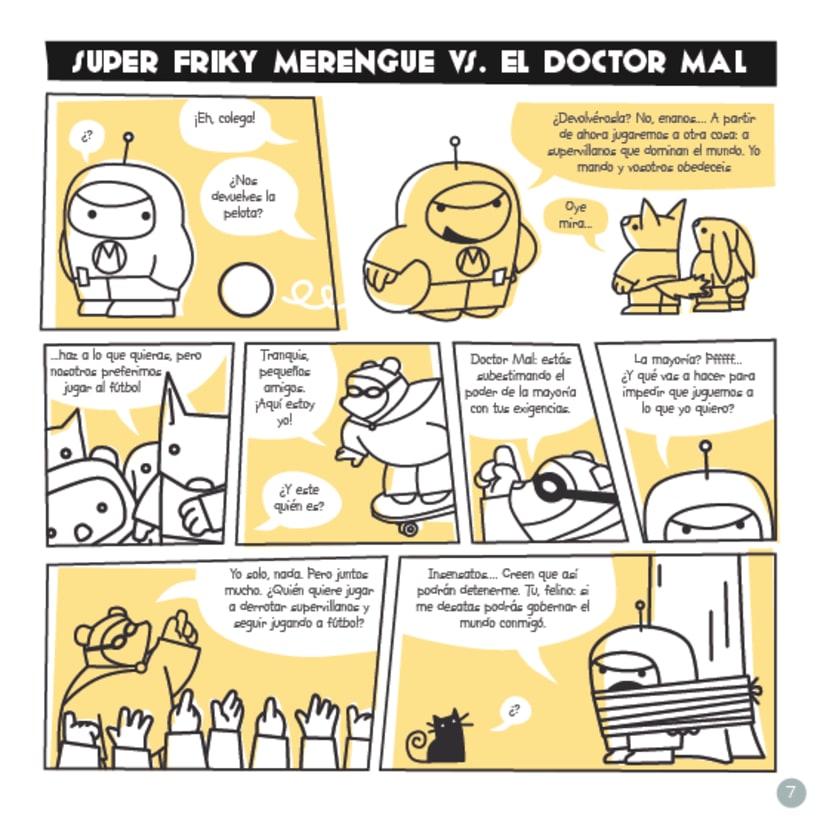 Frikie Merengue vs. Doctor Mal 1