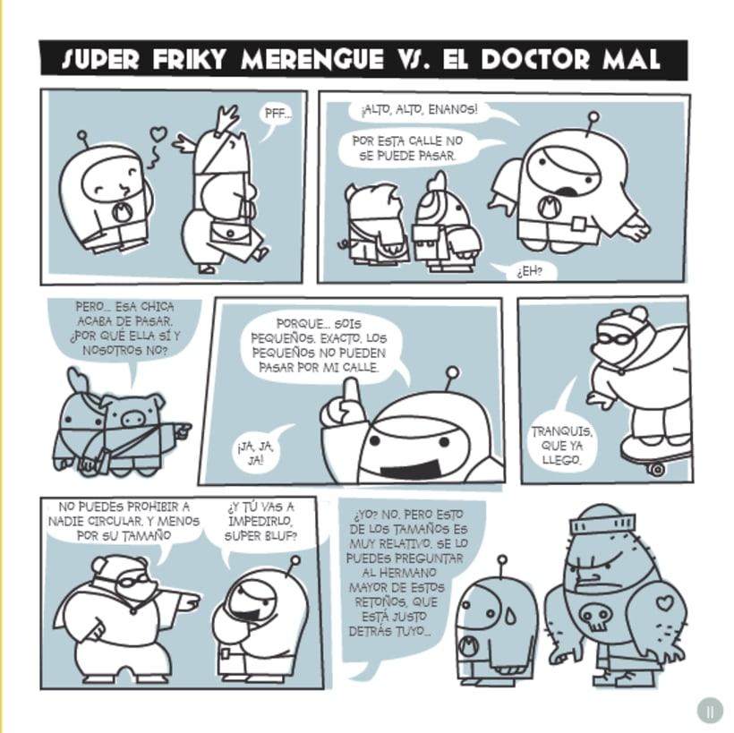 Frikie Merengue vs. Doctor Mal 2