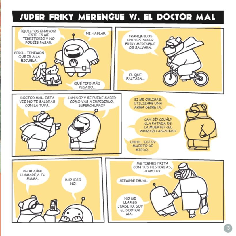 Frikie Merengue vs. Doctor Mal 3