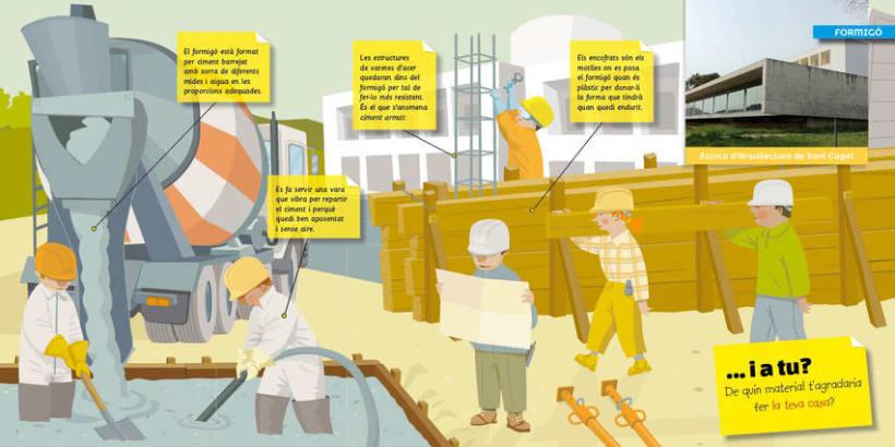 Materials de l'arquitectura a Sant Cugat del Vallès 1