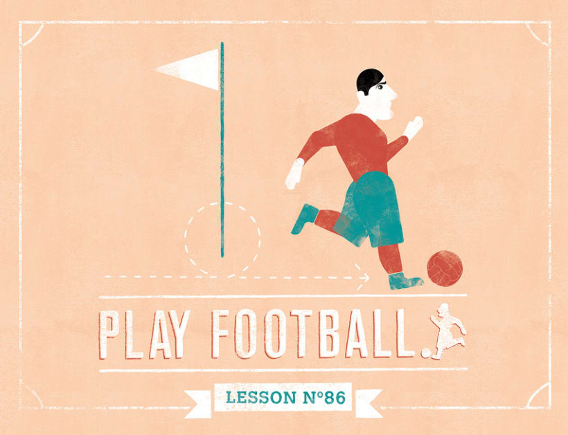 PLAY FOOTBALL, Lessons 3