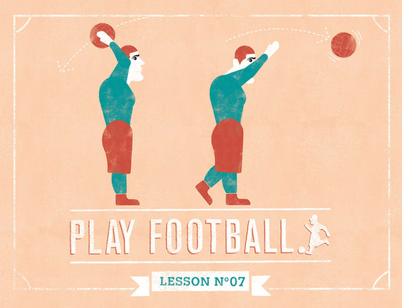 PLAY FOOTBALL, Lessons 4