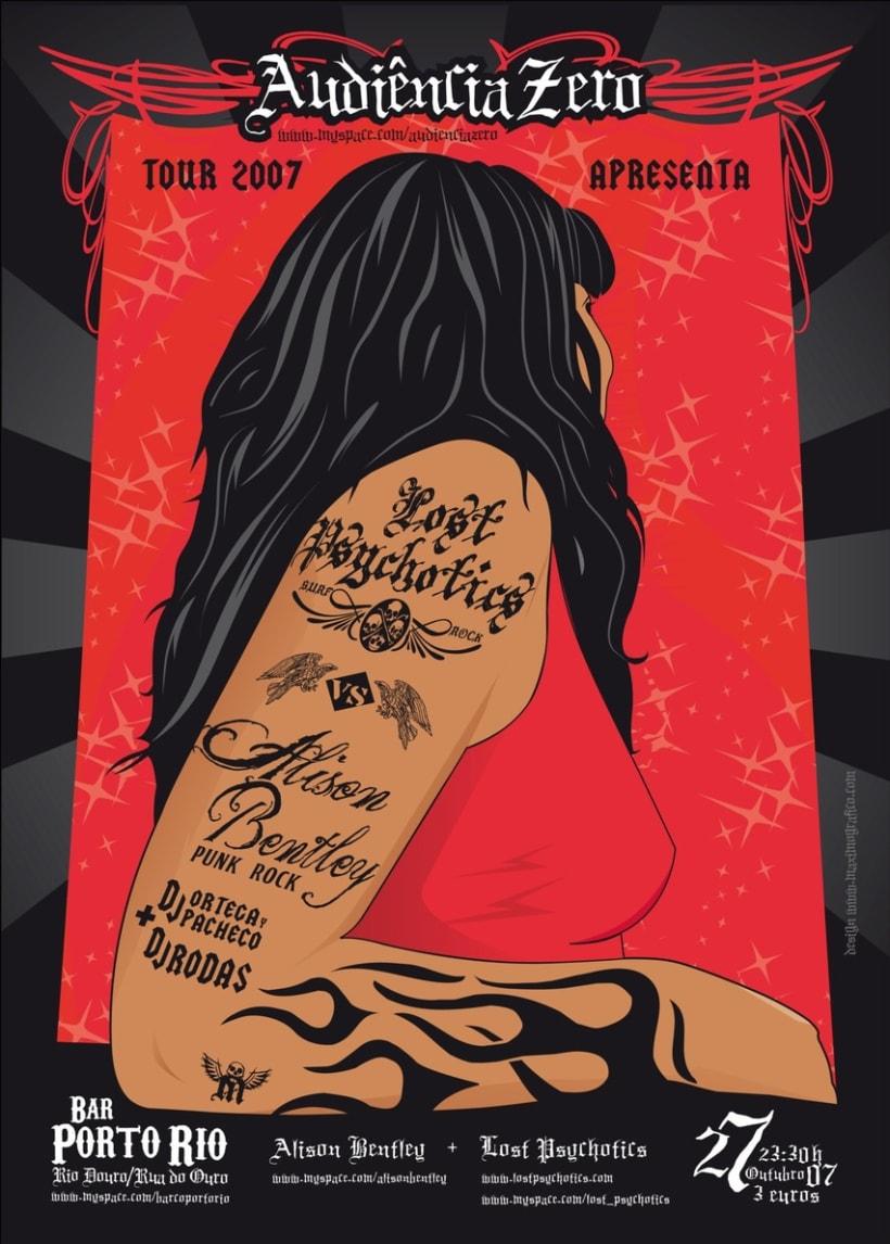 Lost Psychotics tour 2007 1
