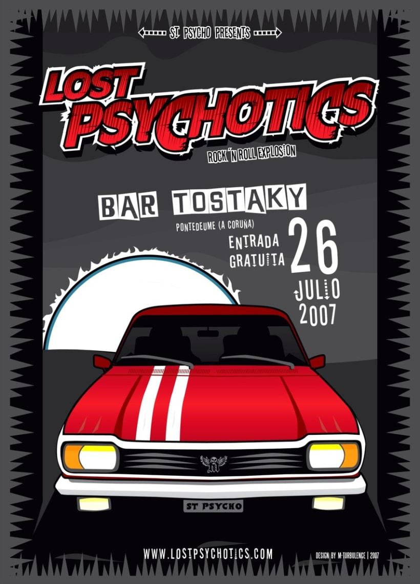 Lost Psychotics tour 2007 2