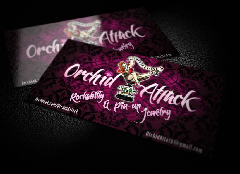 Orchid Attack - logotipo 0
