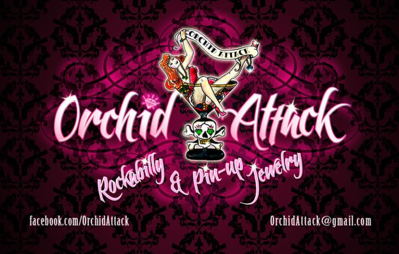 Orchid Attack - logotipo 1