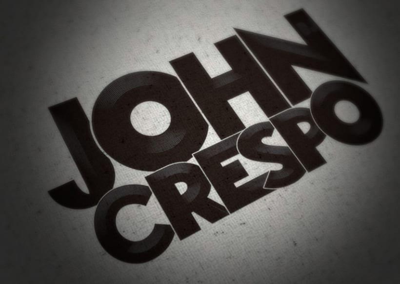 Dj JOHN CRESPO - logotipo 1