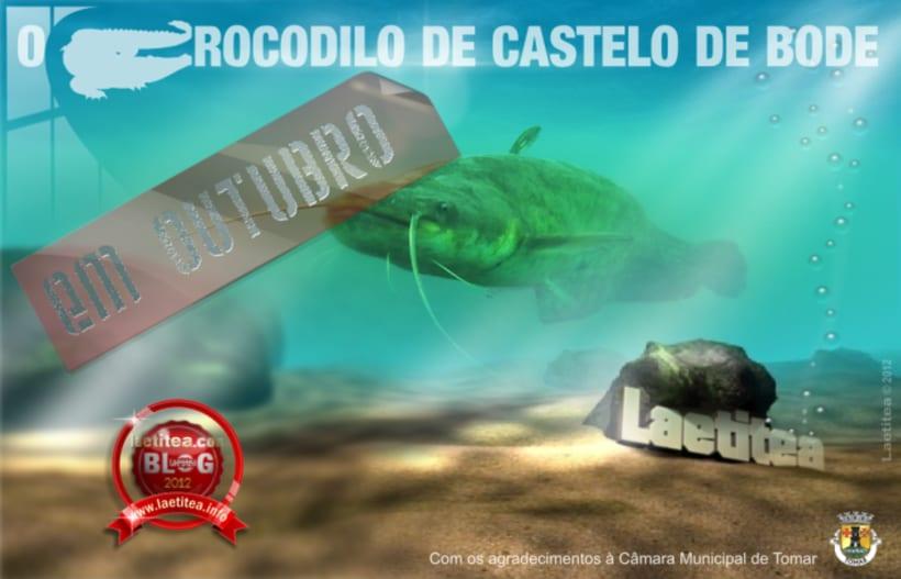 O Crocodilo de Castelo de Bode -1