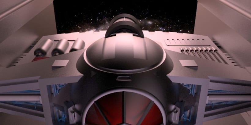 Tie Fighter Darth Vader 6