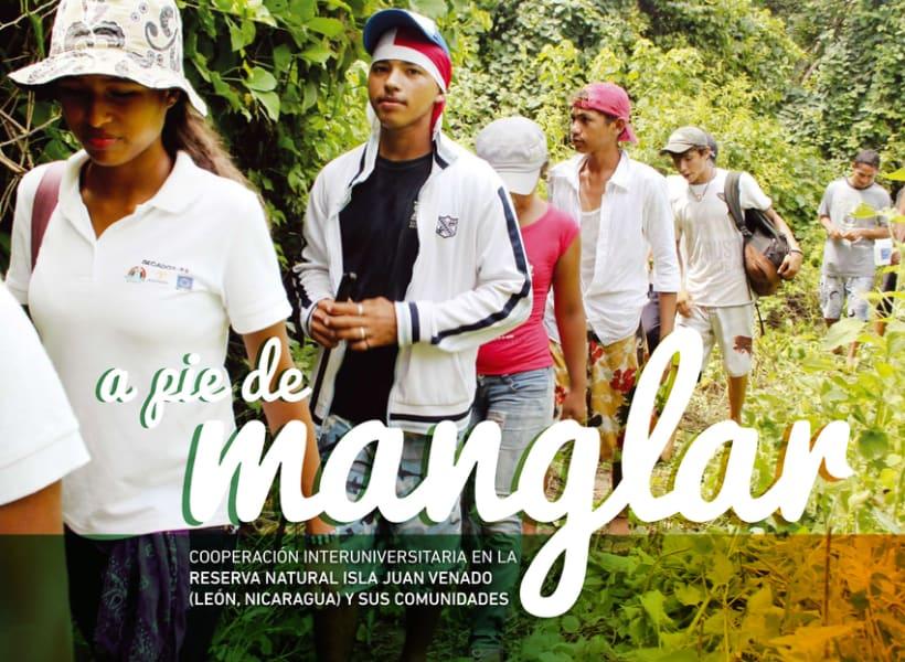 A pie de manglar. Diseño editorial 1