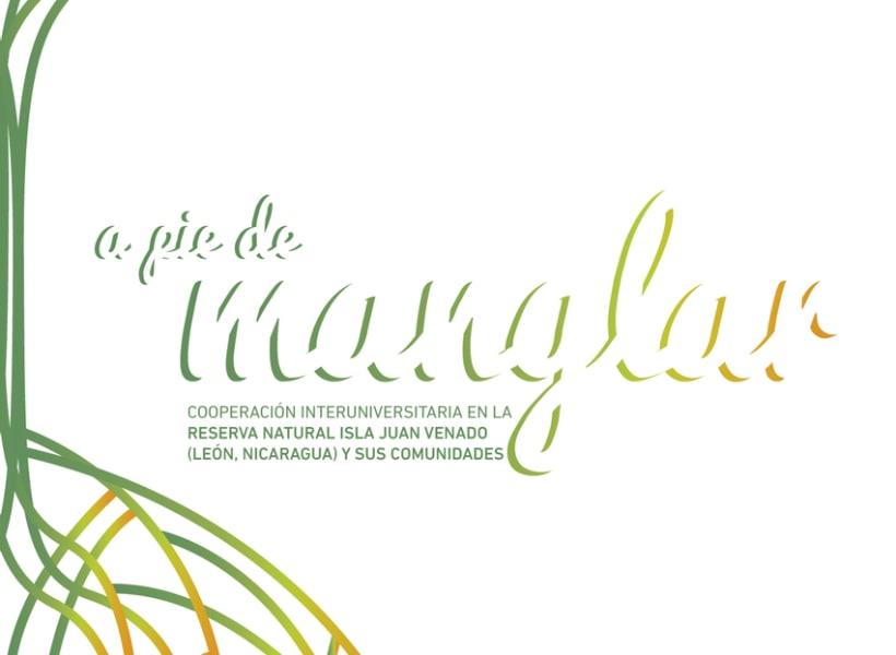 A pie de manglar. Diseño editorial 2