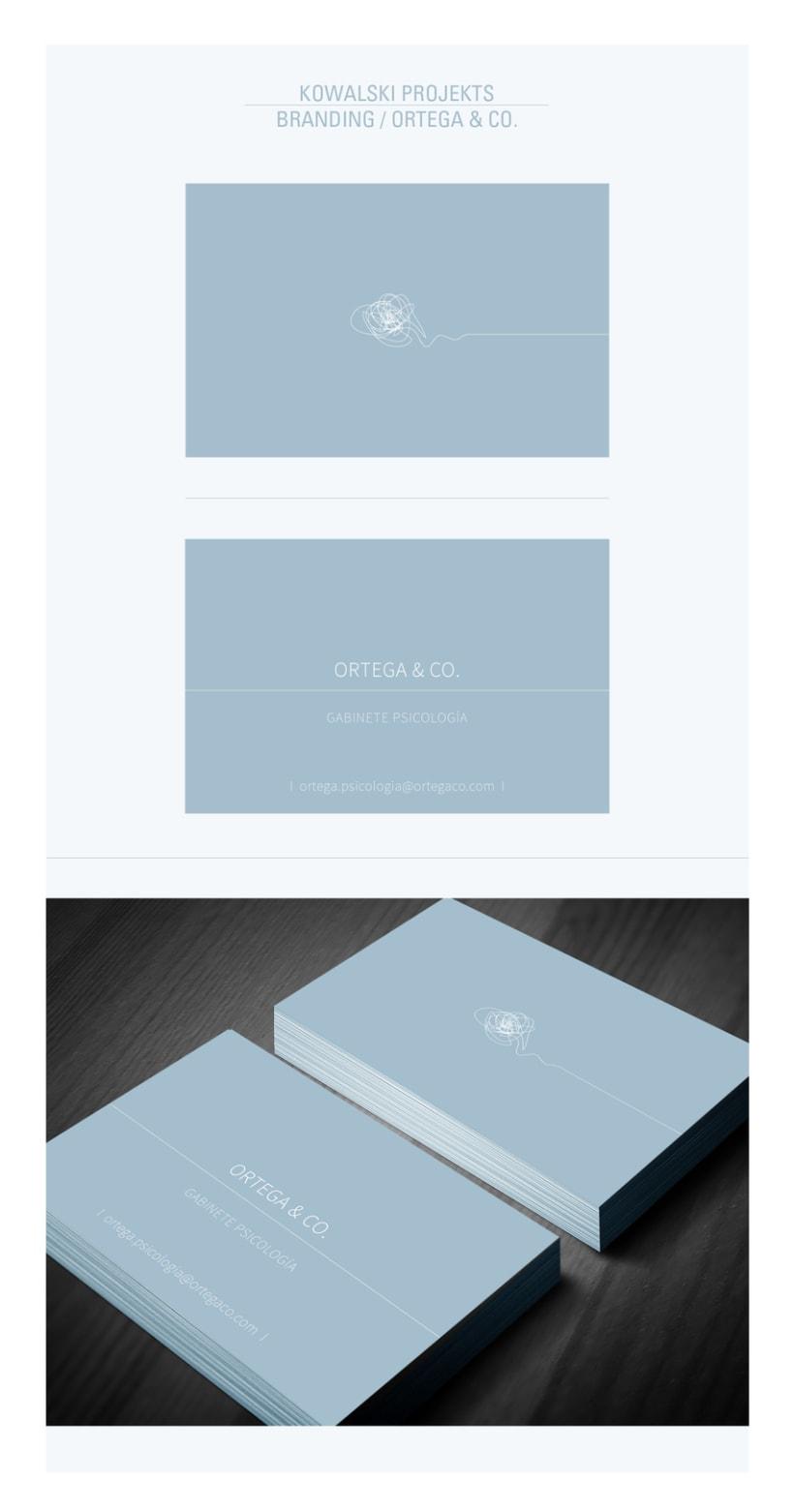 Kowalski Projekts / Branding - ORTEGA & CO - -1