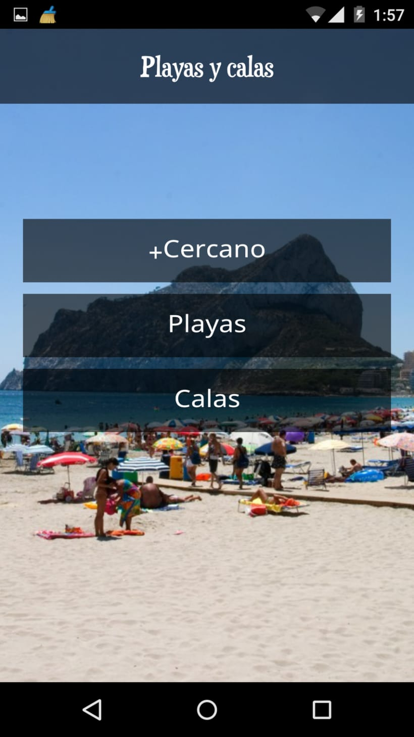App Android. Guía turística. 5