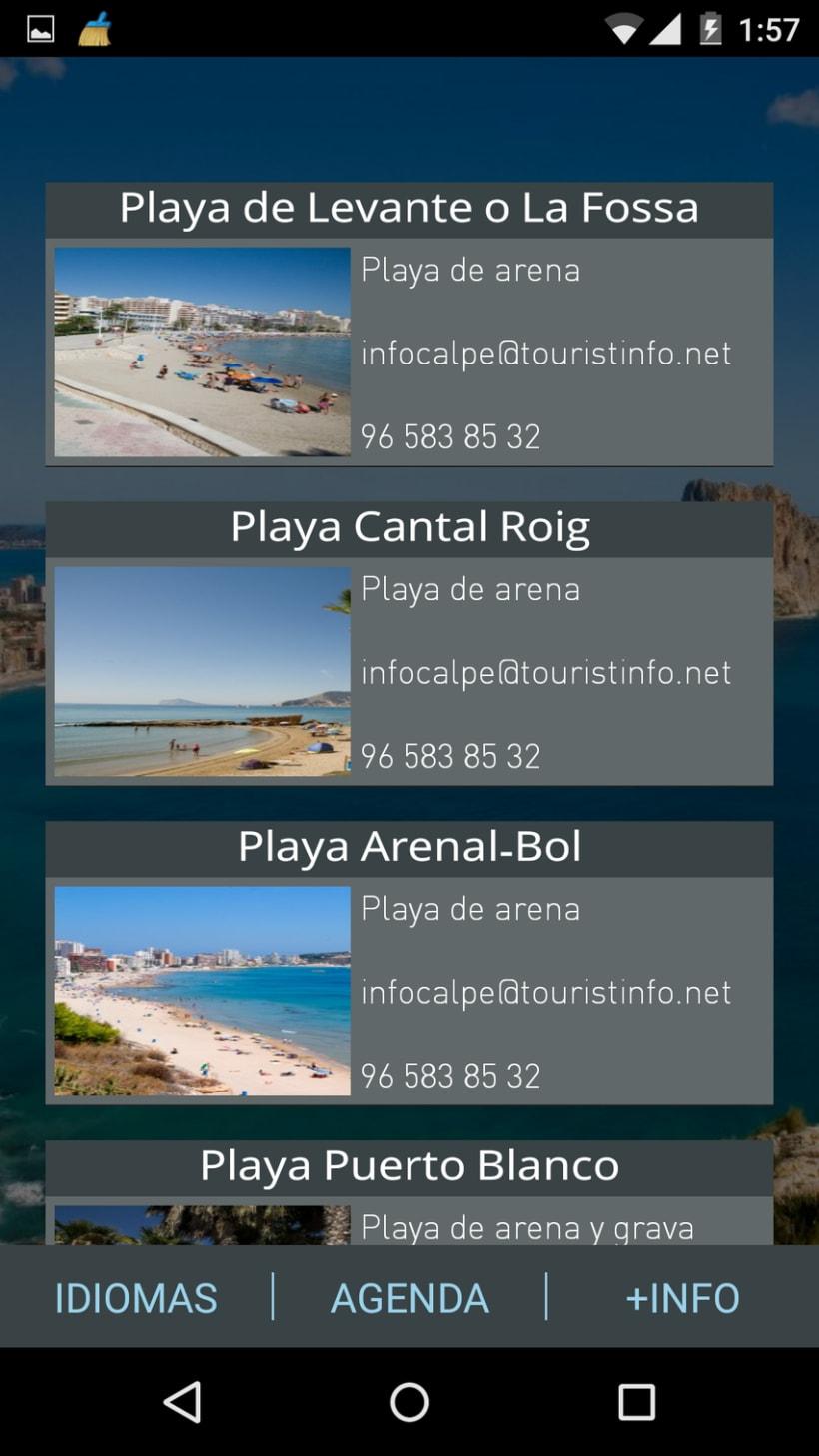 App Android. Guía turística. 6