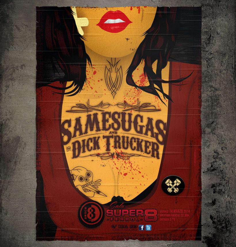 The Dick Trucker & Samesugas 2014 -1