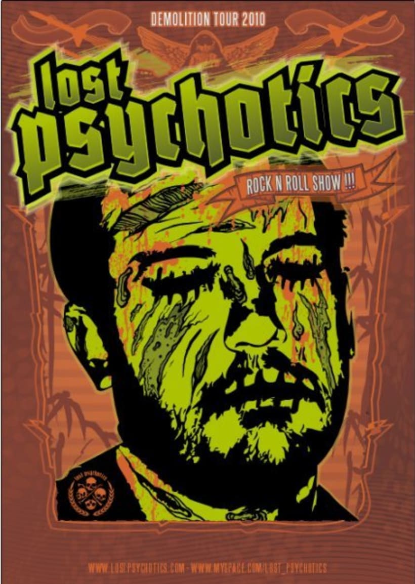 Lost Psychotics tour 2010 0