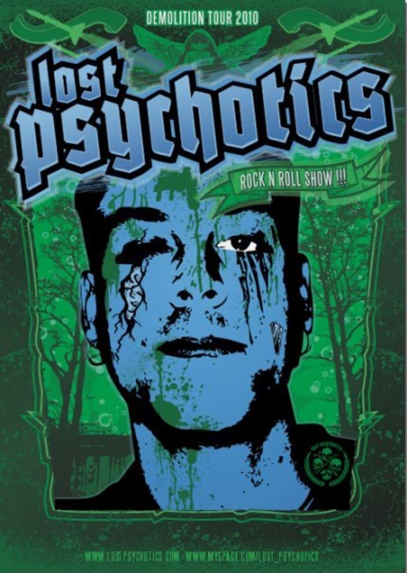 Lost Psychotics tour 2010 1