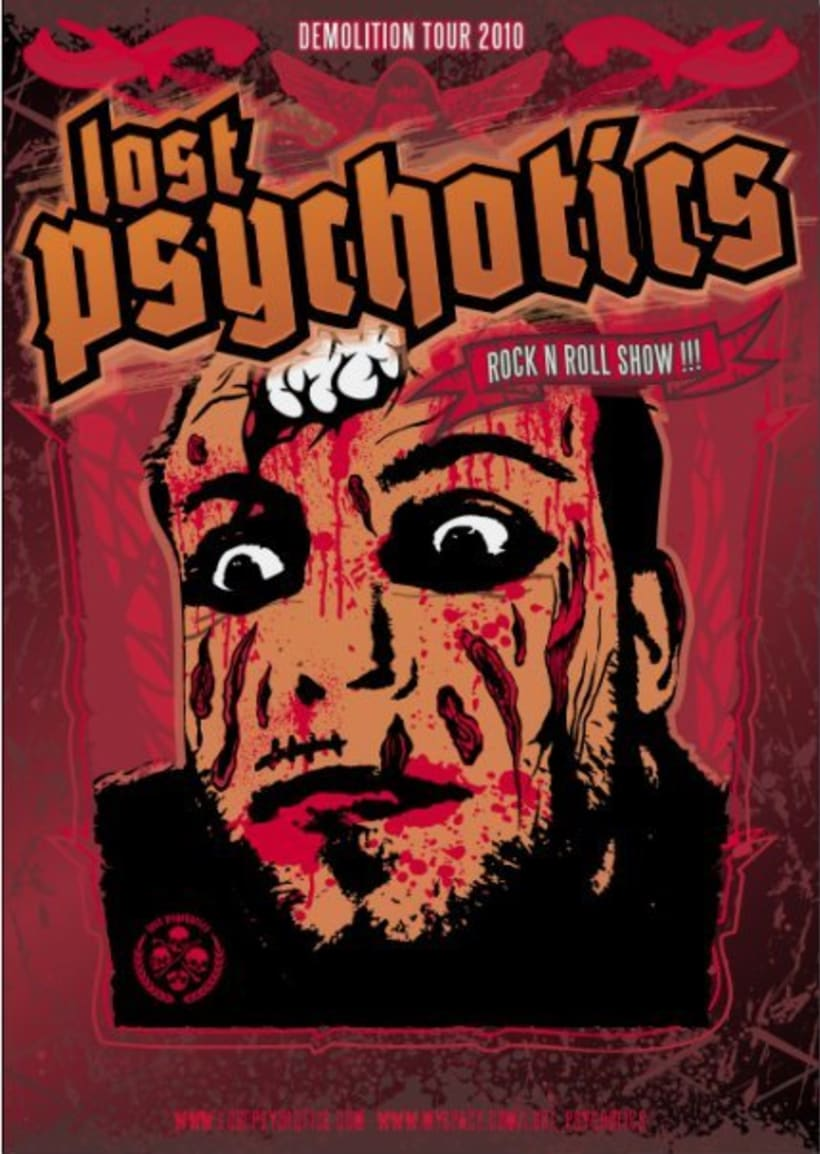 Lost Psychotics tour 2010 2