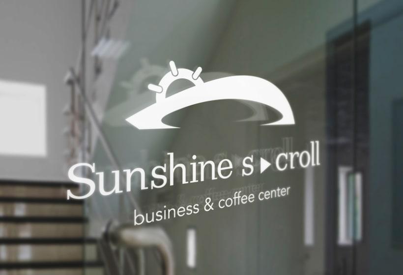 Sunshine Scroll. Business & Coffee Center 1
