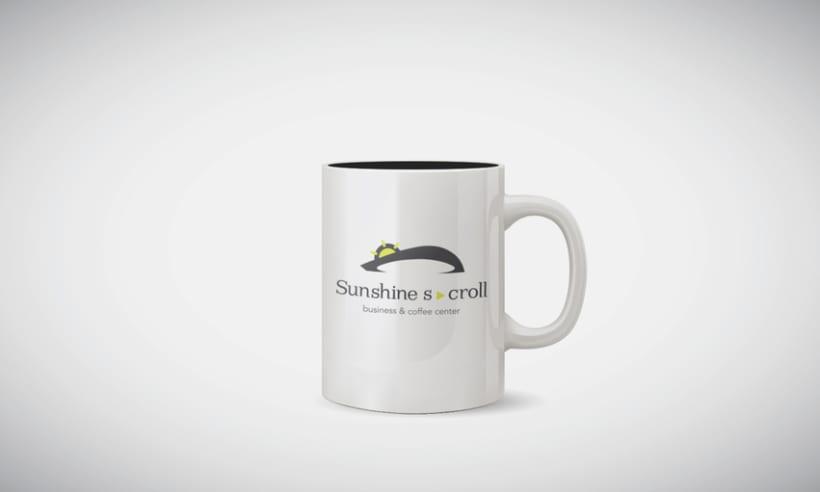 Sunshine Scroll. Business & Coffee Center 4