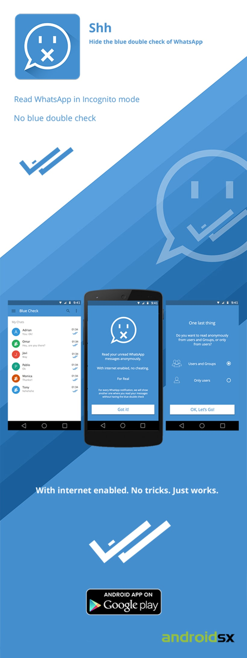 Shh Android App -1