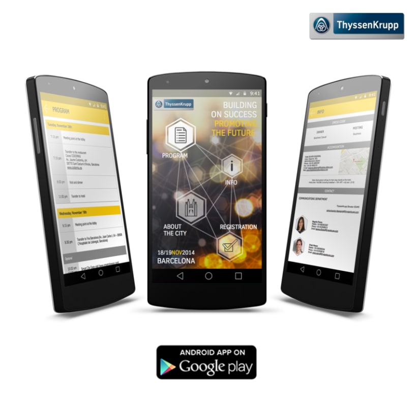 ThyssenKrupp Meeting App -1