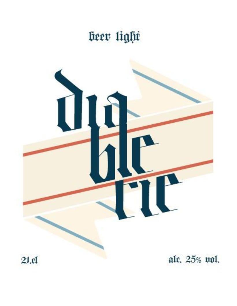 Lettering Cerveza 0