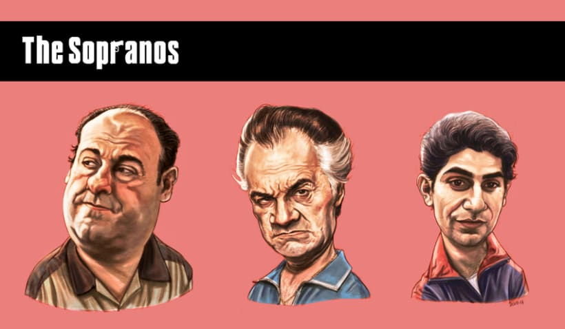 Caricaturas/Retratos/Caricatures/Portraits 5