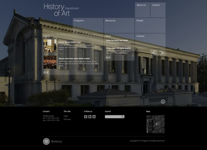 Berkeley University - HOA Website 7