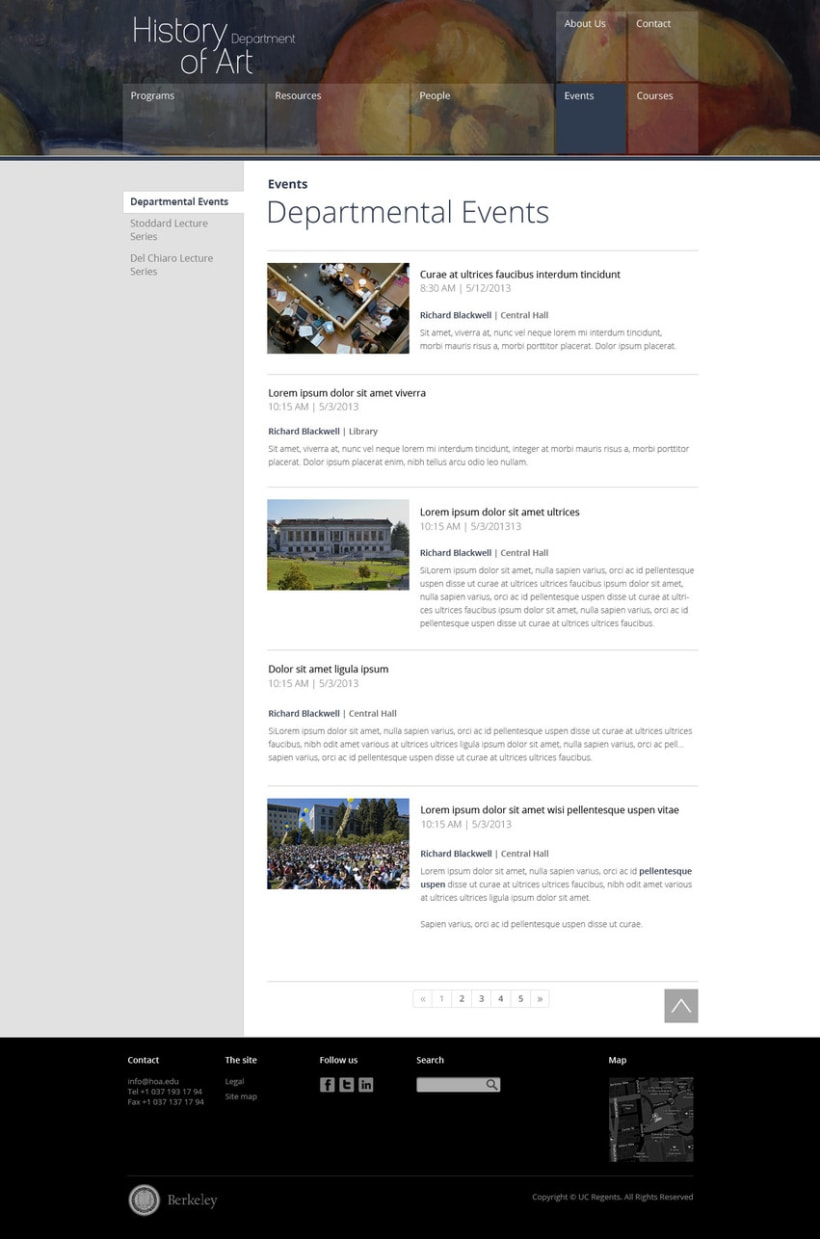 Berkeley University - HOA Website 11