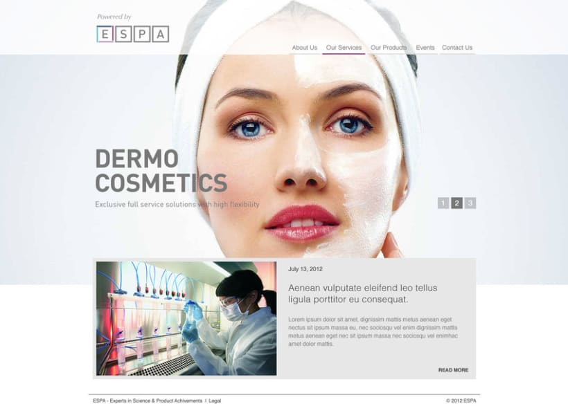 Dermo Cosmetic - Branding & Web Design 10
