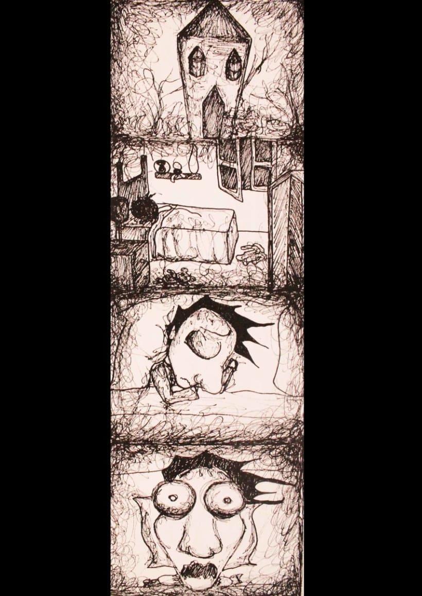"""Parte de Storyboard de """"Marvin"""" -1"""