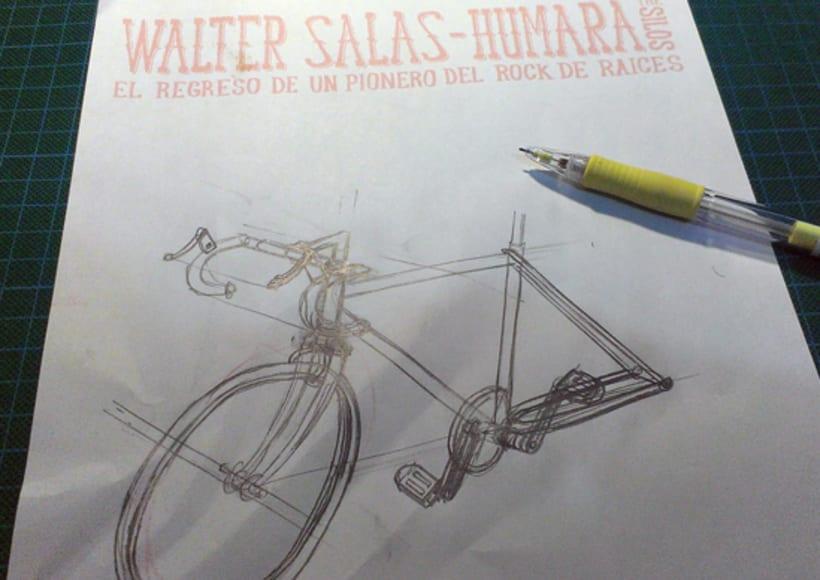 Walter Salas-Humara 2015 Spanish Tour Poster 1