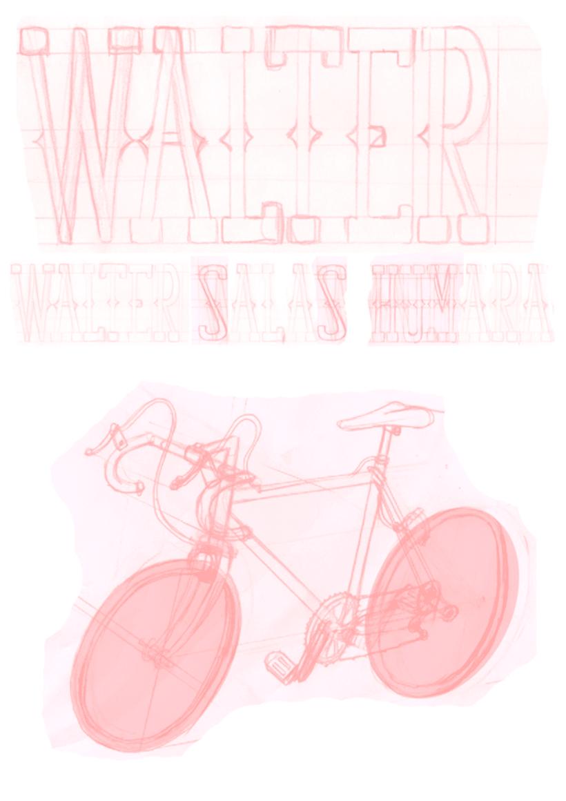 Walter Salas-Humara 2015 Spanish Tour Poster 2