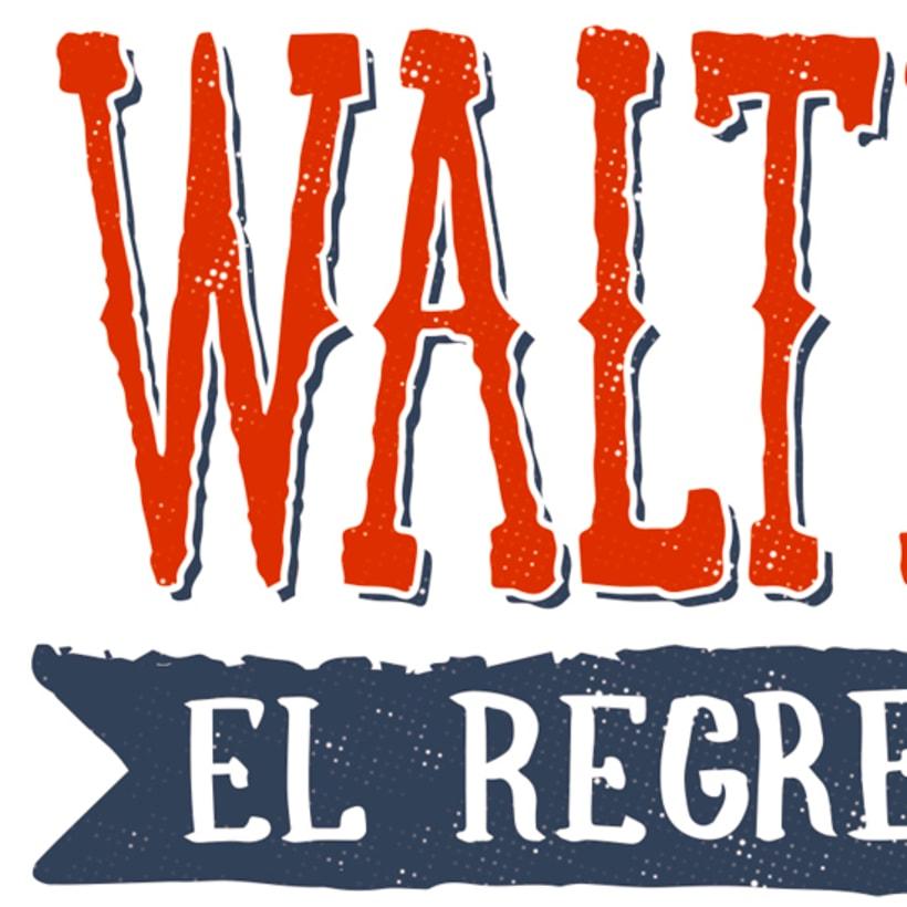 Walter Salas-Humara 2015 Spanish Tour Poster 14