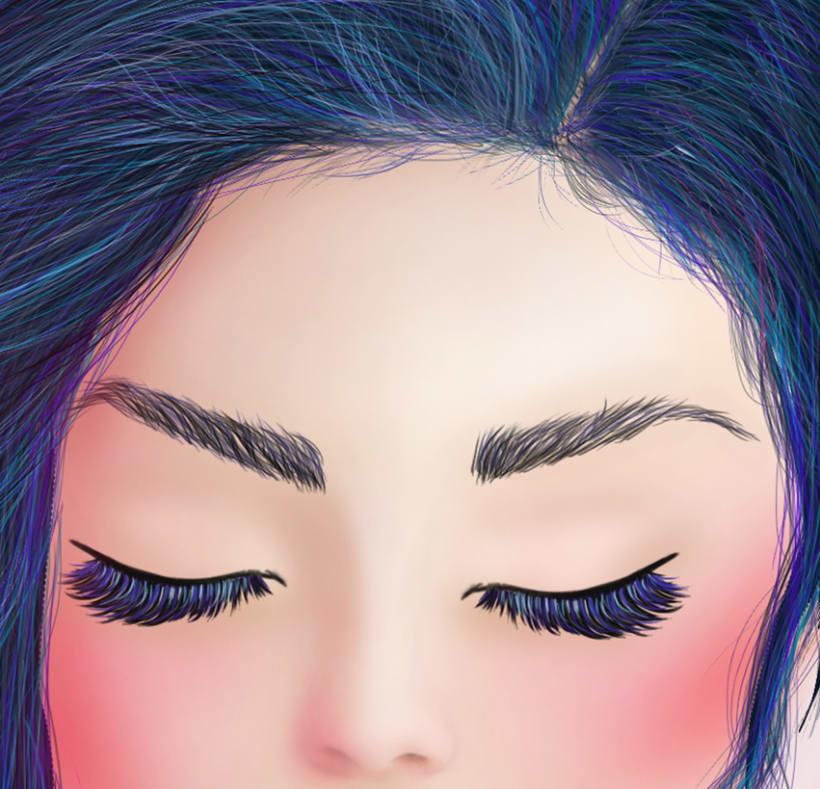 Mujer Azul. 3