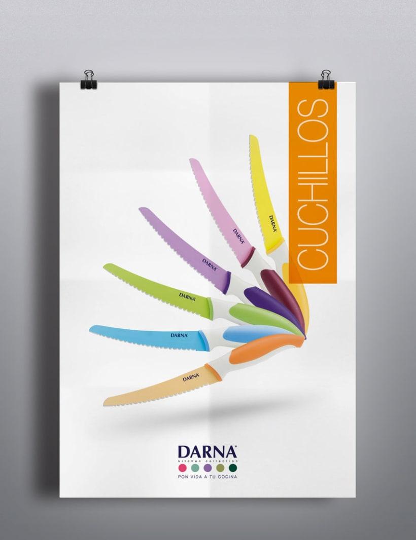 Lanzamiento de marca, Darna Kitchen Collection. 0