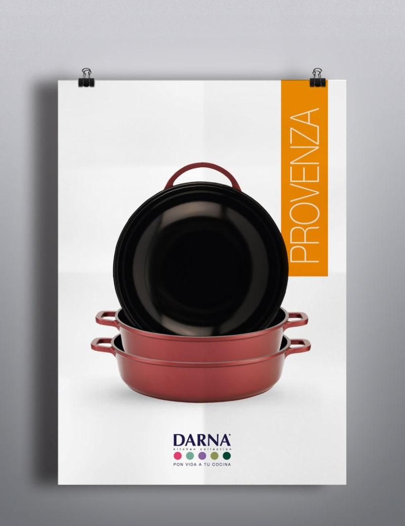 Lanzamiento de marca, Darna Kitchen Collection. 1