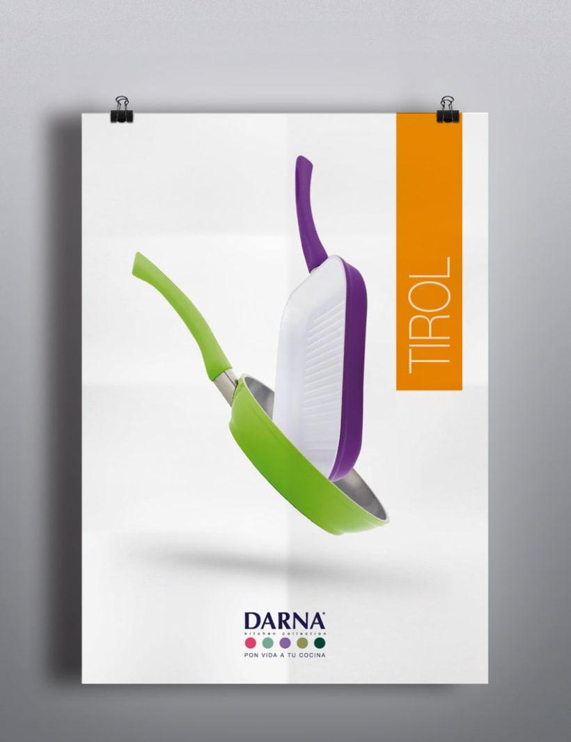 Lanzamiento de marca, Darna Kitchen Collection. 2