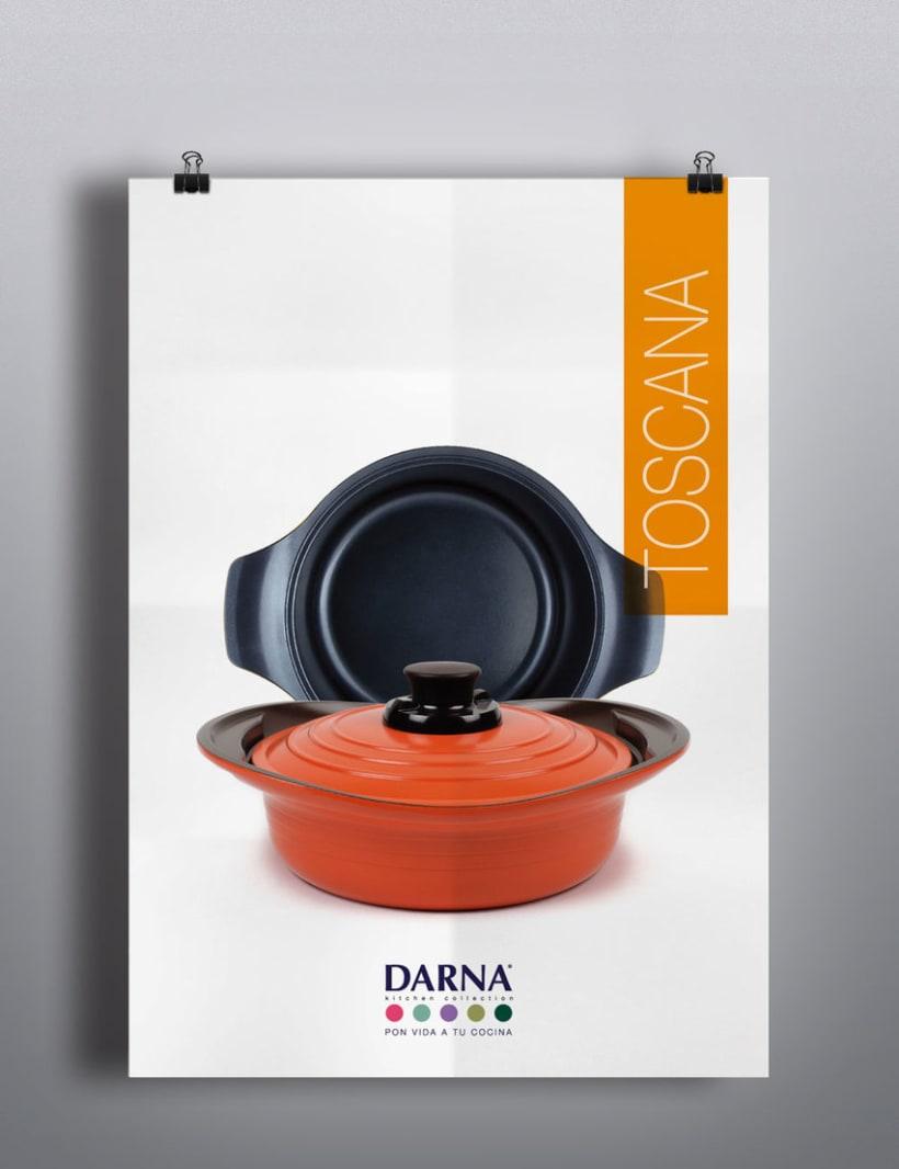 Lanzamiento de marca, Darna Kitchen Collection. 3