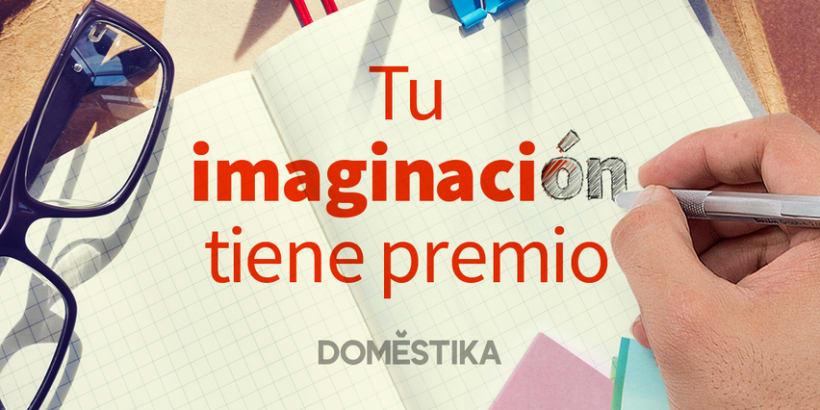 """I Concurso de Domestika en Instagram: """"Tu Imaginación"""" 1"""
