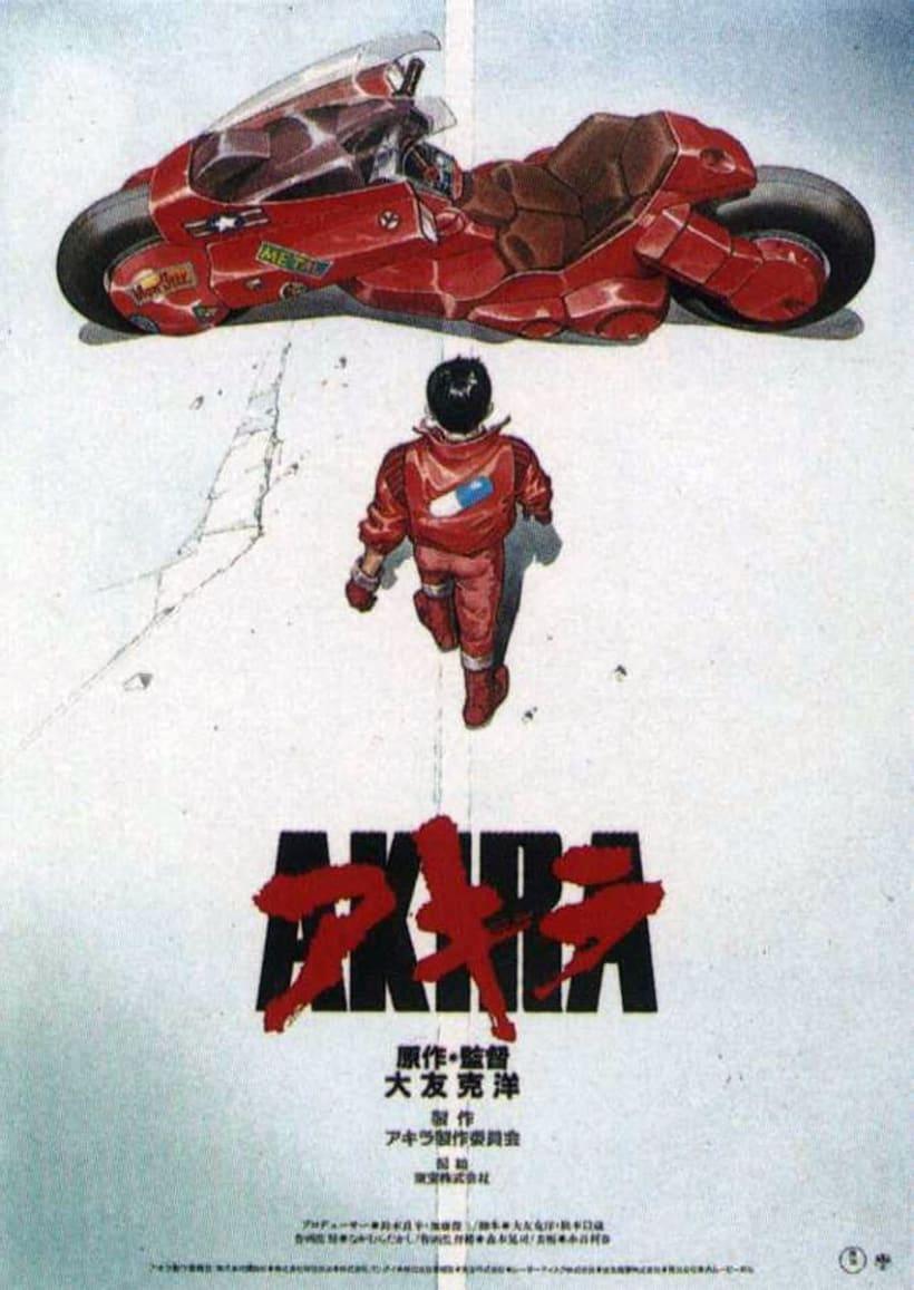 Poster AKIRA Low Poly 1