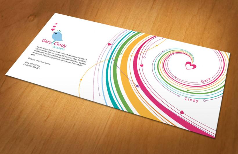 Diseño personalizado - Invitación y logotipo 1